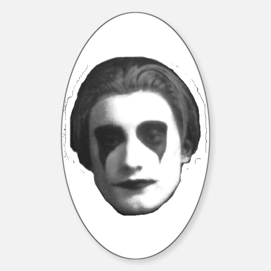 Mark Suba Face Oval Decal