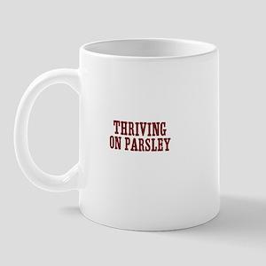 Thriving on parsley Mug