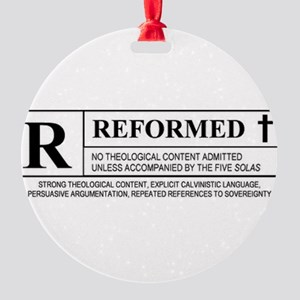 Reformed Round Ornament