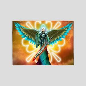 Angel Of God 5'x7'Area Rug