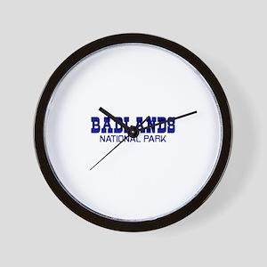 Badlands National Park Wall Clock