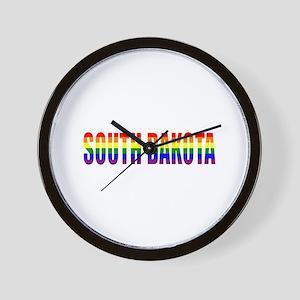 South Dakota Pride Wall Clock