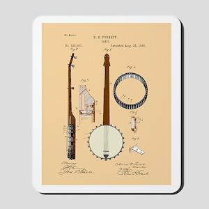 Banjo Patent Mousepad