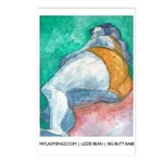 Fat Lady Art Postcards (Package of 8)