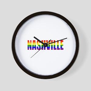 Nashville Pride Wall Clock