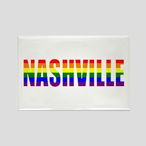 Nashville Pride Rectangle Magnet