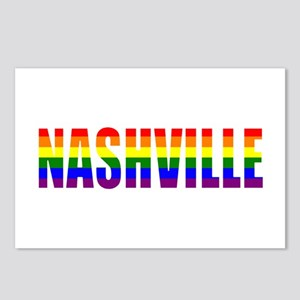 Nashville Pride Postcards (Package of 8)