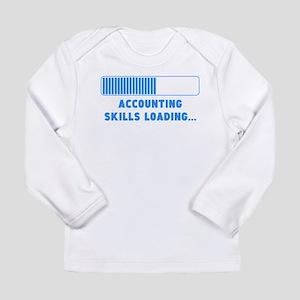 Accounting Skills Loading Long Sleeve T-Shirt