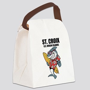 St. Croix, U.S. Virgin Islands Canvas Lunch Bag