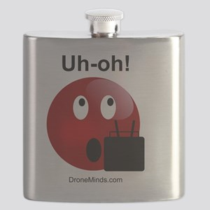 Uh-oh! Drone Pilots Flask