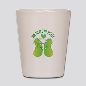 Tickle My Pickle Shot Glass