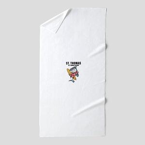 St. Thomas, U.S. Virgin Islands Beach Towel