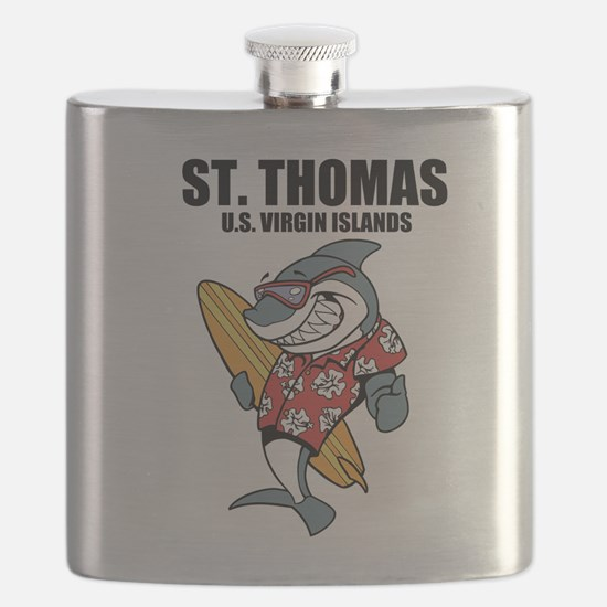 St. Thomas, U.S. Virgin Islands Flask