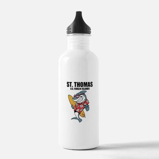 St. Thomas, U.S. Virgin Islands Water Bottle