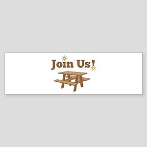 Join Us Bumper Sticker