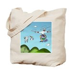 Drone Cartoon 9482 Tote Bag