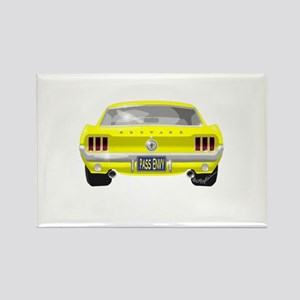 1967 Mustang Rectangle Magnet