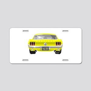 1967 Mustang Aluminum License Plate