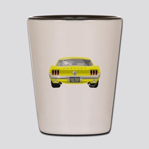 1967 Mustang Shot Glass