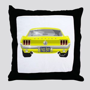 1967 Mustang Throw Pillow