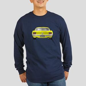 1967 Mustang Long Sleeve Dark T-Shirt