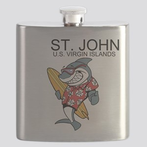St. John, U.S. Virgin Islands Flask