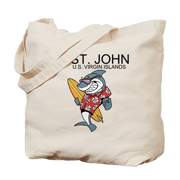 Houses For Sale In Neptune Beach Fl: St. John, U.S. Virgin Islands Tote Bag By Bestbeach
