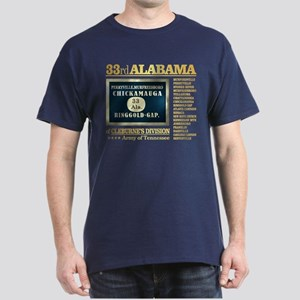 33rd Alabama Infantry (BH2) T-Shirt
