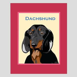 "Dachshund Small Poster - 16 X 20"""