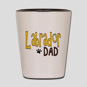 Labrador Dad Shot Glass