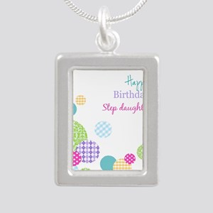 Happy Birthday Step Daughter Necklaces