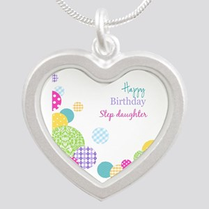 Happy Birthday Step Daughter Necklaces