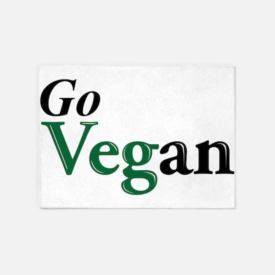 Go Vegan 5'x7'Area Rug