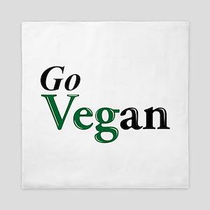 Go Vegan Queen Duvet