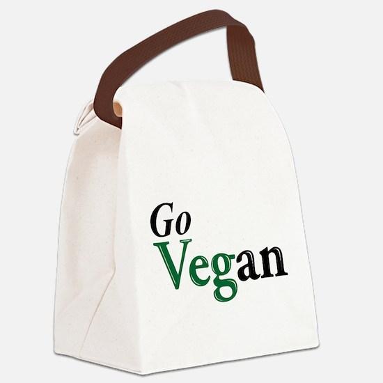 Go Vegan Canvas Lunch Bag