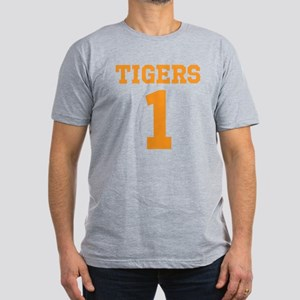 TIGERS 1 Men's Fitted T-Shirt (dark)