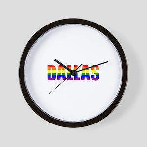 Dallas Pride Wall Clock