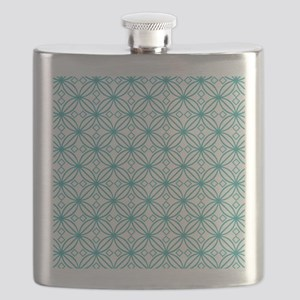 Turquoise Morroccan  Flask