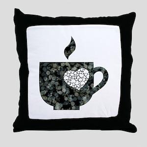 Cuppa Love Throw Pillow