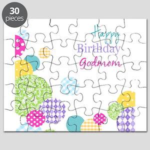 Happy Birthday God Mom Puzzle