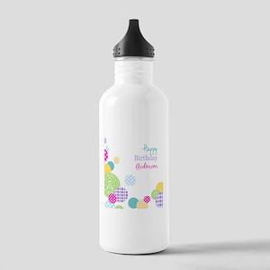 Happy Birthday God Mom Sports Water Bottle