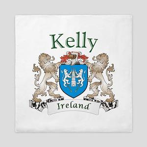 Kelly Irish Coat of Arms Queen Duvet