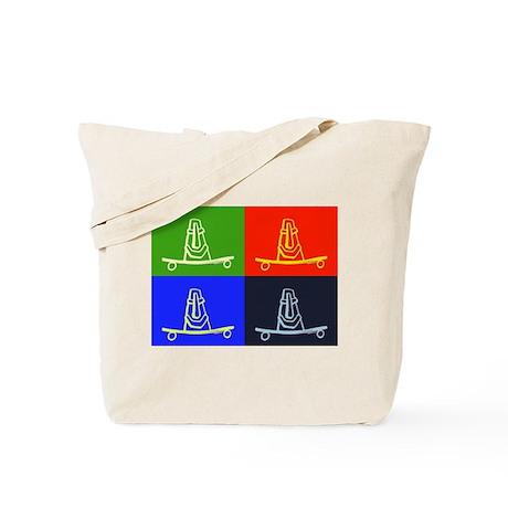 Multi Tiki Tote Bag