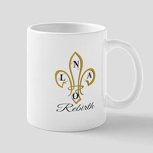 NOLA Rebirth Fleur de Lis Mugs