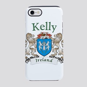 Kelly Irish Coat of Arms iPhone 8/7 Tough Case