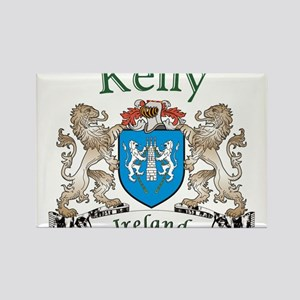 Kelly Irish Coat of Arms Magnets