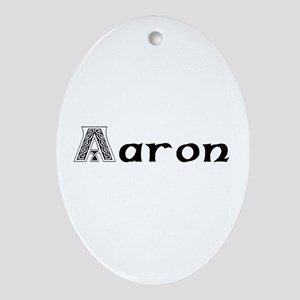 Aaron Oval Ornament