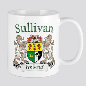 Sullivan Irish Coat of Arms Mugs