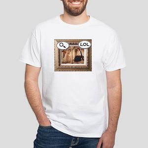 Annunciation White T-Shirt
