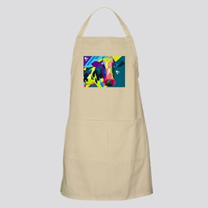 Pop Art Cow Animal Print Apron